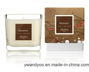 Luxury Scented Soy Gift Candle in Glass with Matched Box