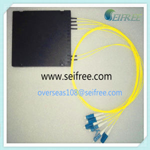 FTTH Fiber Optical PLC Splitter 2*4 with 0.9mm Pigtail (B2) pictures & photos