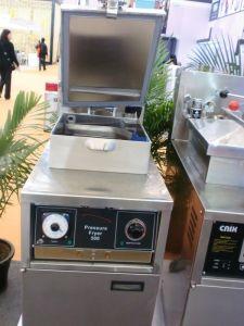Mechanical Control Panel Chicken Gas Pressure Fryer Pfg-500 pictures & photos