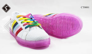 Fashion Colorful Children Casual Shoes pictures & photos