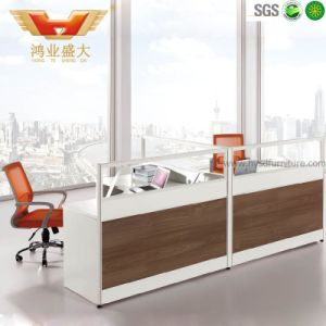 Hot Sales Office Modern 2 Seater Partition Workstation (HY-P14) pictures & photos