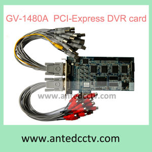 16 Channel Gv 1480 PCI-Express V8.62 DVR Card PC Based Digital Video Recorder Board pictures & photos