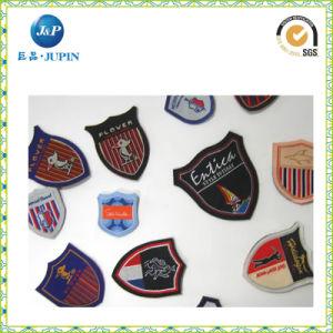 Hot Sale Mitre Folding Woven Badge Label / Garment Accessories (JP-CL033) pictures & photos