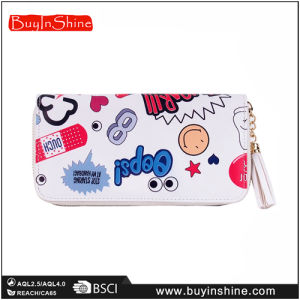 Lady′s Lovely Cartoon Printing Wallet