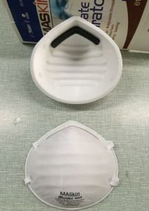 Maskin 6115 Cup Dust Mask Niosh N95 Approved pictures & photos
