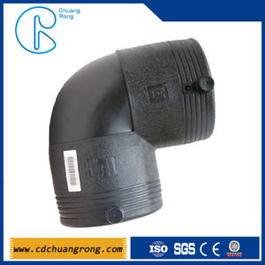 Black Gas Pipe Fittings (45 degree elbow) pictures & photos
