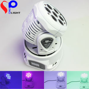 7*10W Mini LED Moving Head Wash Stage Lighting