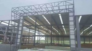 Prefab Warehouse/Steel Structure Prefabricated Peb Workshop pictures & photos