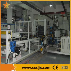 High Quality Plastic PE Sheet Extruder Machine pictures & photos