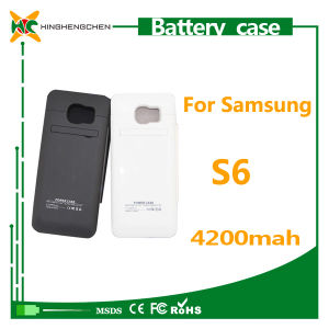 Rechargeable External Battery Case for Samsung Galaxy S6 Mobile Power Bank pictures & photos