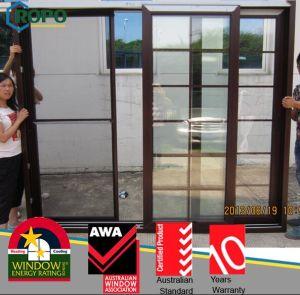 Interior Wooden Door, PVC Sliding Door with Grids Design pictures & photos