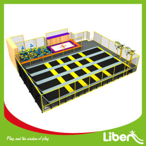 China Large Trampoline Park Golden Provider pictures & photos