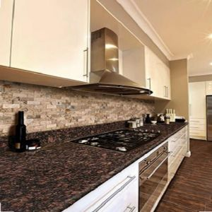 Natural Stone Tan Brown Granite Countertop for Kitchen pictures & photos