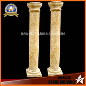 Hand Carved Decorative Natural Stone Roman Pillar (NS-11TC03) pictures & photos