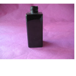 6oz Black Square Pet Bottle Without Cap pictures & photos