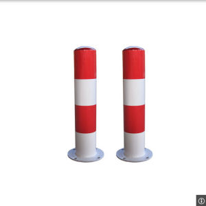 Red/White Road Safety Plastic Flexible Warning Bollard pictures & photos