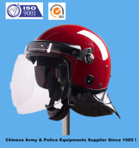 French Style Police Anti Riot Helmet