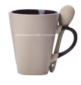 Porcelain Gift Coffee Cup Set with Spoon (CPBZ-4026) pictures & photos