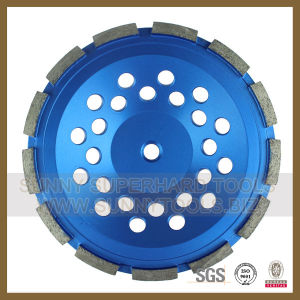 2016 Core Competence Diamond Cup Wheel for Stone Concrete (S-DCW-1011) pictures & photos