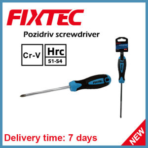 Fixtec Hand Tools CRV 150mm Pozidriv Screwdriver pictures & photos