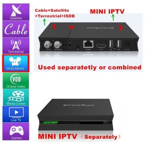 Satellite Receiver (DVB-S2) with IPTV & Xbmc Without Subscription pictures & photos