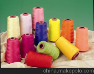 Plastic Sewing Thread 100% Polyester Embroidery pictures & photos