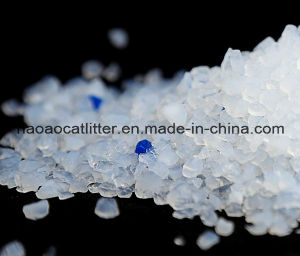 Slical Gel Blue Color Cat Sand with Strong Odor Control pictures & photos