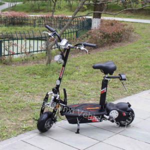 Two Wheel Electric-Powered Adult Scooters Qx-2001 pictures & photos
