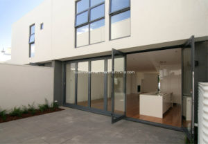 Multiple Openness Foldable Double Glass Aluminium Doors pictures & photos