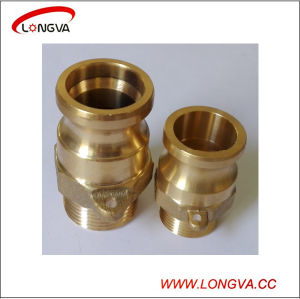 Brass Industrial Camlock Hose Coupling Type F pictures & photos