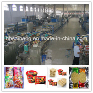 Automatic Instant Noodles Processing Line/Making Machine/Machinery/ Equipment pictures & photos