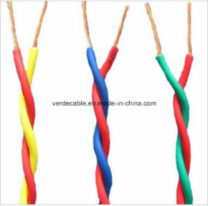 Flexible Copper Conductor PVC Insulated Twisted Electrical Cable pictures & photos