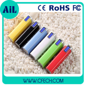 Hot Selling Promotional Metal Power Bank with LED Screen Portable Power Bank (P111)