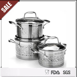 Hot Sale 18 10 Stainless Steel Cookware Set