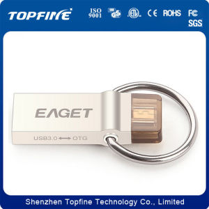 USB 2.0 USB Flash Drive, OTG USB Flash Drive for iPhone5 iPhone 6 pictures & photos