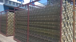 Cement Used Galvanized\ Silicon Coating Carbon Steel Filter Bag Cage pictures & photos