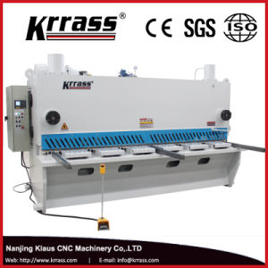 QC11k CNC Hydraulic Guillotine Shearing Machine pictures & photos