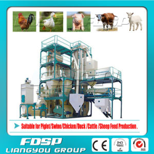 Top Sale 5t/H Feed Mill Plant with Factory Price (SKJZ5800) pictures & photos