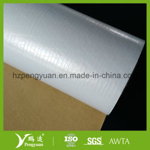 Kraft Paper Reinforced White PP Film Scrim for Moisture Barrier Film of Sound Insulation and Thermal Insulation pictures & photos