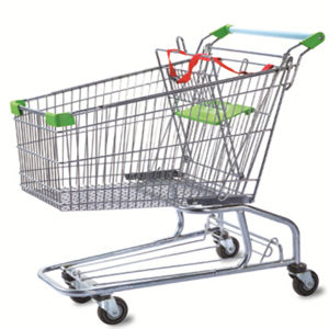 Used Basket Cart Supermarket Shopping Trolley pictures & photos