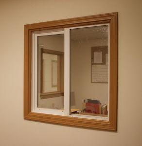 2014 Hot Sale Glass Grill Window Design Aluminum Sliding Window pictures & photos