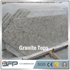 Natural Stone Granite Bathroom Vanity Top with Polished Treatment pictures & photos