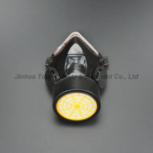 Double Cartridge Chemical Respirator and Indirect Vents Safety Goggle Group Set (CR308) pictures & photos
