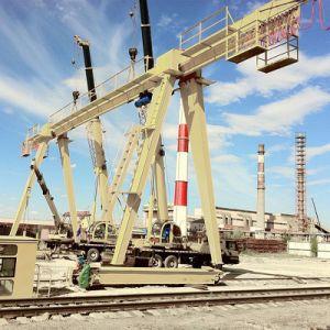 Truss Type Electric Hoist Single Girder Gantry Crane pictures & photos