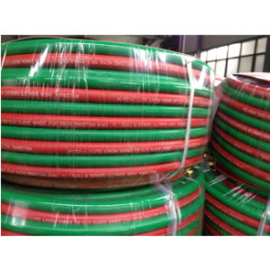 300psi EPDM 1/4′′ + 1/4′′ Twin Hose Welding pictures & photos