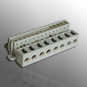 Three Phase DIN Terminal Block for Power Meter (MLIE-TB004) pictures & photos