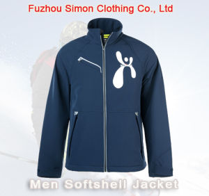 High Quality Light Men Softshell Jacket for Outdoor Sport pictures & photos