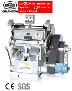 Adhesive Paper Die Cutting Machine (750*520mm) pictures & photos
