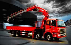 XCMG Sq16zk4q 16ton Folding-Arm Mini Truck Mounted Crane pictures & photos
