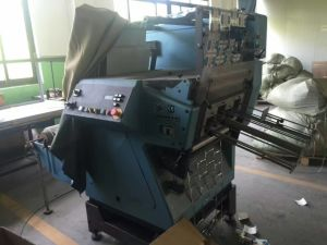 Second Hand Ce Approved Automatic Drum Die Cutting Machine